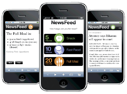 Medill Interactive Innovation Project: News Feed