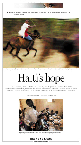 The News-Press: Haiti's Hope - 1
