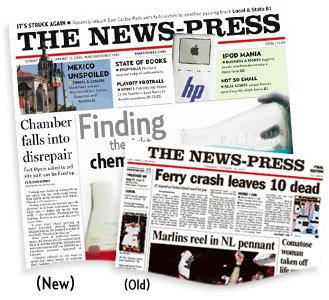 The News-Press: New vs. Old
