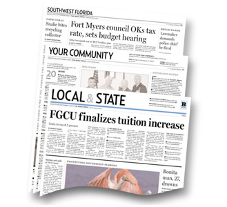 The News-Press: Expanded Local & State section