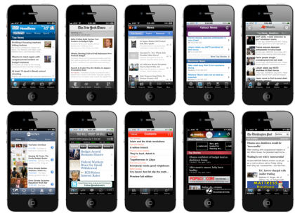 iPhone Popular News Applications